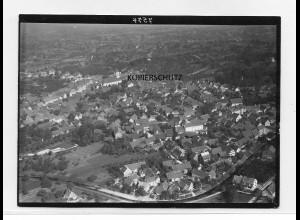 ZZ-0090/ Renchen seltenes Foto Luftbild ca.1935 18 x 13 cm