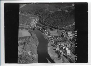 ZZ-2363/ Ziegenrück seltenes Luftbild 1939 18 x 13 cm