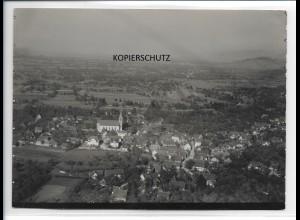 ZZ-0091/ ULM seltenes Foto Luftbild ca.1935 18 x 13 cm