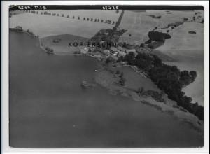 ZZ-2890/ Groß-Thurow b. Roggendorf Foto seltenes Luftbild 1939 18 x 13 cm
