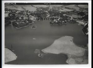ZZ-2982/ Schwerin Lankow Foto seltenes Luftbild 1939 18 x 13 cm