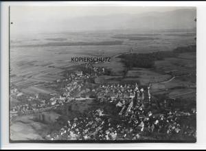 ZZ-0092/ Lichtenau b. Ulm seltenes Foto Luftbild ca.1935 18 x 13 cm