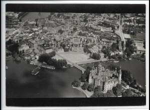 ZZ-2979/ Schwerin Foto seltenes Luftbild 1939 18 x 13 cm