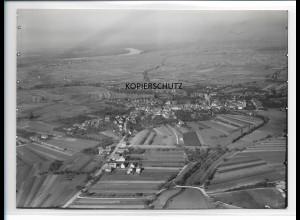 ZZ-0093/ Lichtenau b. Ulm seltenes Foto Luftbild ca.1935 18 x 13 cm