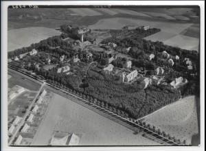 ZZ-4026/ Stralsund Heilanstalt Tribsees Foto seltenes Luftbild 1939 18 x 13 cm