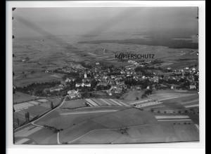 ZZ-5483/ Kork bei Kehl seltenes Foto Luftbild 18 x 13 cm