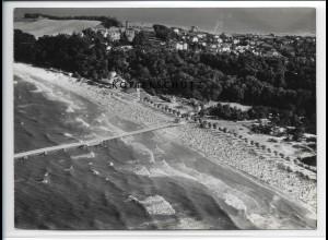 ZZ-5236/ Göhren Foto seltenes Luftbild 18 x 13 cm 1939