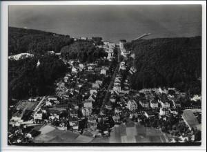 ZZ-2414/ Sellin auf Rügen seltenes Luftbild 1939 18 x 13 cm