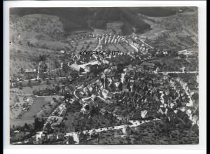 ZZ-0096/ Haslach bei Wolfach seltenes Foto Luftbild 1937 18 x 13 cm