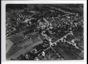 ZZ-0539/ Haslach bei Wolfach seltenes Foto Luftbild 1937 18 x 13 cm