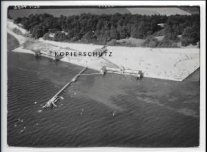 ZZ-5235/ Stralsund Foto seltenes Luftbild 18 x 13 cm 1939