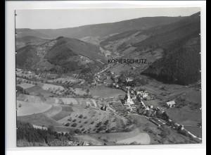ZZ-0100/ Nordrach Kolonie b.Offenburg Foto Luftbild ca.1935 18 x 13 cm