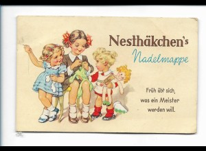 Y18114/ Nesthäkchen`s Nadelmappe Kinder mit Puppe