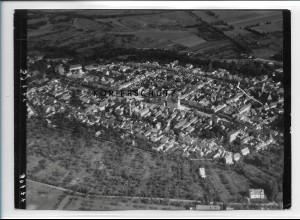 ZZ-2581/ Treuenbrietzen Foto seltenes Luftbild 1938 18 x 13 cm