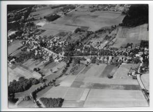 ZZ-2470/ Schmachtenhagen b. Oranienburg Foto seltenes Luftbild 1938 18 x 13cm