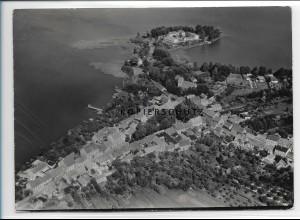 ZZ-2854/ Teupitz Foto seltenes Luftbild 1939 18 x 13 cm
