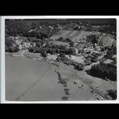 ZZ-2853/ Ferch Schwielowsee Foto seltenes Luftbild 1939 18 x 13 cm