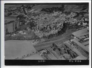 ZZ-2473/ Unter-Peissen b. Bernburg Foto seltenes Luftbild 1938 18 x 13 cm
