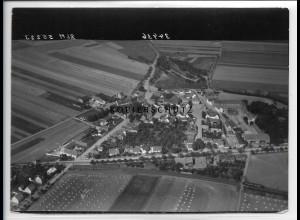 ZZ-2480/ Bebitz bei Könnern Foto seltenes Luftbild 1938 18 x 13 cm