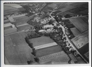 ZZ-2481/ Bebitz bei Könnern Foto seltenes Luftbild 1938 18 x 13 cm