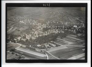 ZZ-0103/ Schutterwald b. Offenburg seltenes Foto Luftbild ca.1935 18 x 13 cm
