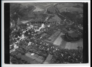 ZZ-2482/ Rothenburg S.-Anhalt Foto seltenes Luftbild 1938 18 x 13 cm