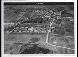 ZZ-2486/ Löderburg b. Staßfurt Foto seltenes Luftbild 1938 18 x 13 cm