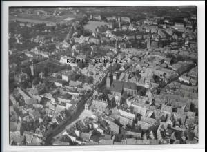 ZZ-2488/ Quedlinburg Foto seltenes Luftbild 1939 18 x 13 cm