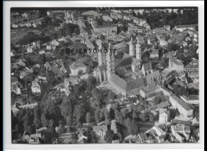 ZZ-2490/ Naumburg Saale Foto seltenes Luftbild 1939 18 x 13 cm