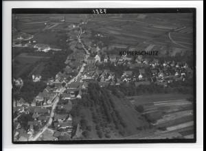 ZZ-0104/ Schutterwald b. Offenburg seltenes Foto Luftbild ca.1935 18 x 13 cm