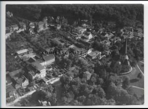ZZ-2847/ Thale Foto seltenes Luftbild 1938 18 x 13 cm