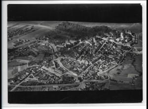 ZZ-2846/ Pretzsch Foto seltenes Luftbild 1939 18 x 13 cm