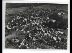 ZZ-0106/ Zell am Harmersbach seltenes Foto Luftbild 1937 18 x 13 cm