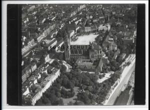 ZZ-2466/ Magdeburg Foto seltenes Luftbild 1938 18 x 13 cm