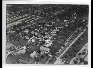 ZZ-0107/ Unterentersbach Zell a. H. seltenes Foto Luftbild 1937 18 x 13 cm