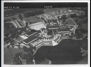 ZZ-2465/ Magdeburg Foto seltenes Luftbild 1938 18 x 13 cm