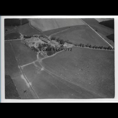 ZZ-2851/ Bärenrode b. Güntersberge Foto seltenes Luftbild 1939 18 x 13 cm
