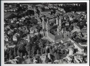 ZZ-2582/ Naumburg Saale Foto seltenes Luftbild 1939 18 x 13 cm