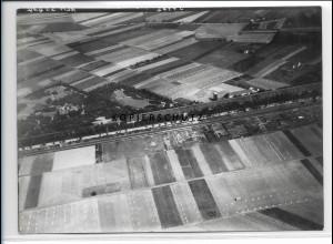 ZZ-4392/ Salzelmen Schönebek Foto seltenes Luftbild 1938 18 x 13 cm