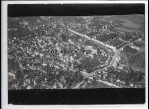 ZZ-4393/ Salzelmen Schönebek Foto seltenes Luftbild 1938 18 x 13 cm