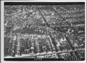 ZZ-2528/ Bernburg Foto seltenes Luftbild 1938 18 x 13 cm