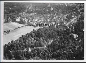 ZZ-5176/ Halle a. S. Foto seltenes Luftbild 18 x 13 cm 1938
