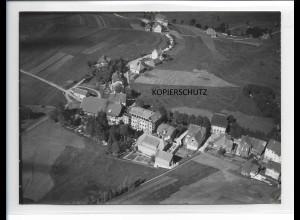 ZZ-0113/ Schönwald seltenes Foto Luftbild ca.1935 18 x 13 cm