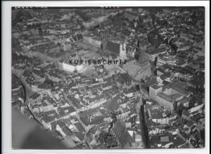 ZZ-5174/ Halle a. S. Foto seltenes Luftbild 18 x 13 cm 1938