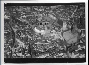 ZZ-5173/ Halle a. S. Foto seltenes Luftbild 18 x 13 cm 1938