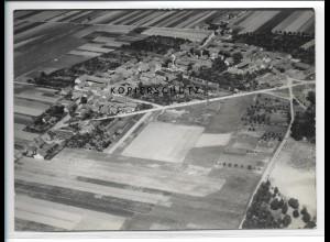 ZZ-2450/ Satuelle b. Haldensleben Foto seltenes Luftbild 1938 18 x 13 cm