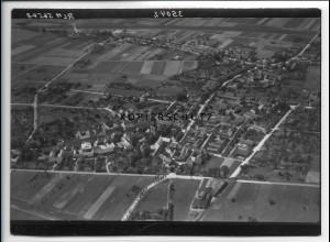 ZZ-2521/ Calvörde Foto seltenes Luftbild 1938 18 x 13 cm