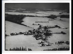 ZZ-0115/ Schönwald seltenes Foto Luftbild ca.1935 18 x 13 cm