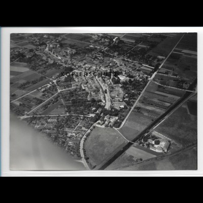ZZ-2520/ Calvörde Foto seltenes Luftbild 1938 18 x 13 cm