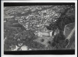 ZZ-2517/ Wittenberg Foto seltenes Luftbild ca.1938 18 x 13 cm